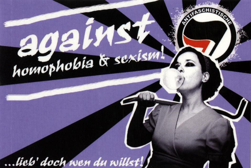Against Homophobia & Sexism!