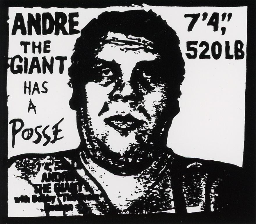 Obey Giant Shepard Fairey  Flower Hands sticker Andre