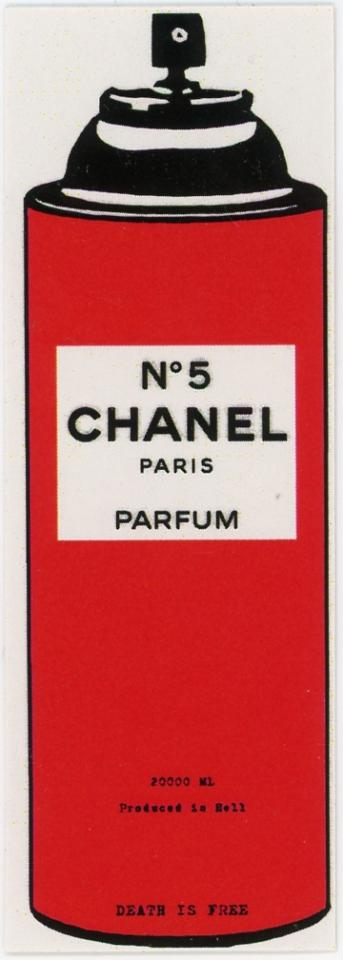Death NYC -- No. 5 Chanel Paris Parfum -- 20000mL -- Produced In Hell -- Death Is Free