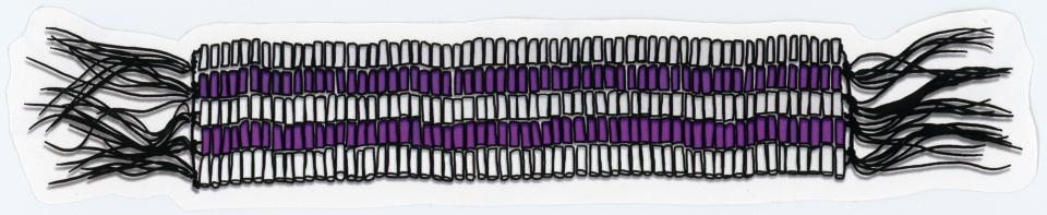 Two-Row Wampum Belt