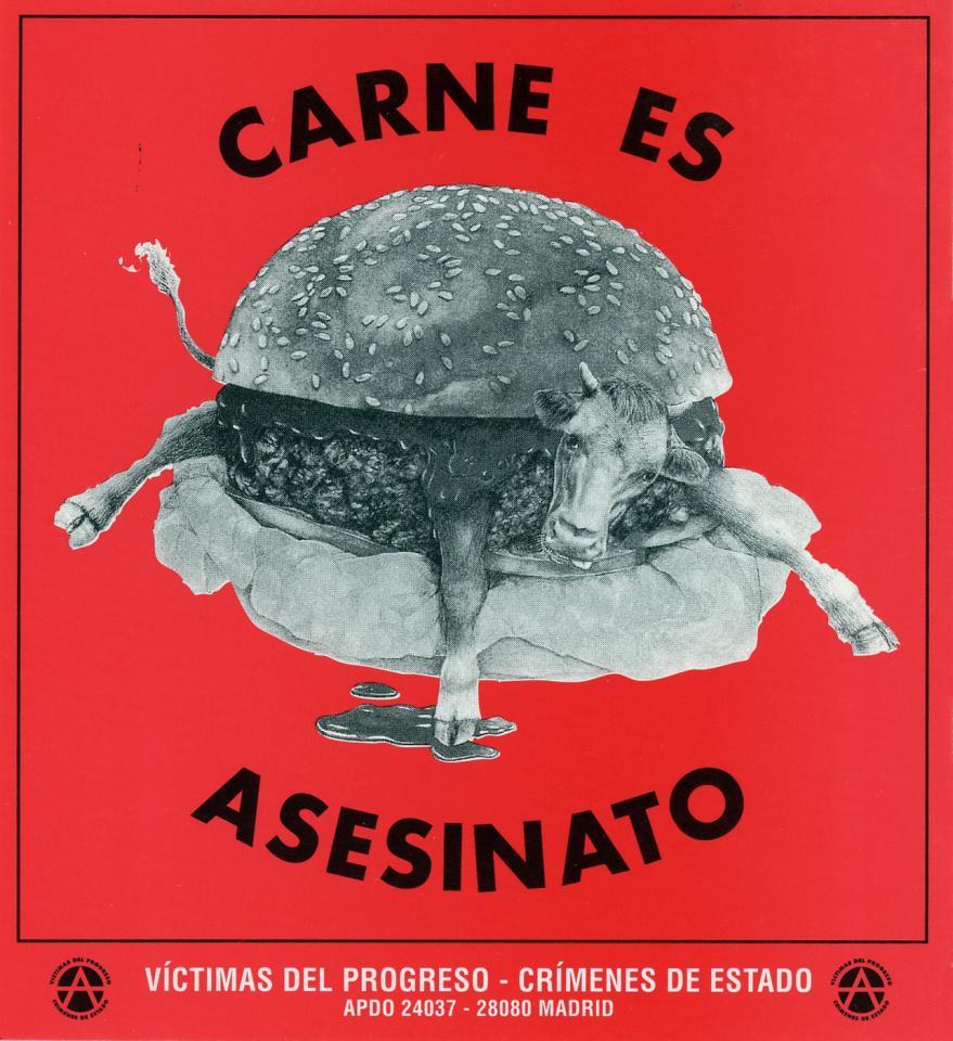 Cow in hamburger bun
