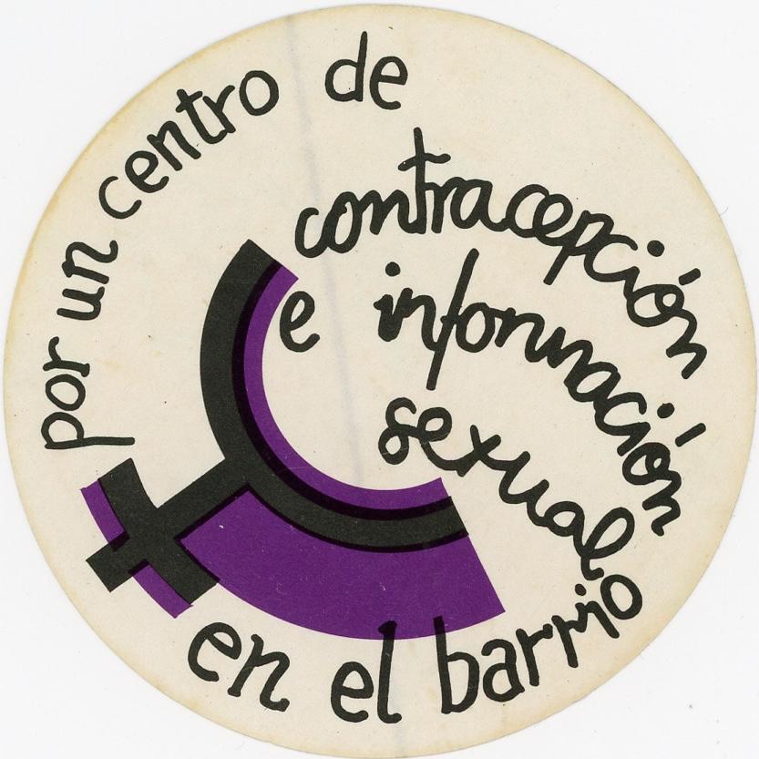 women's symbol purple black
