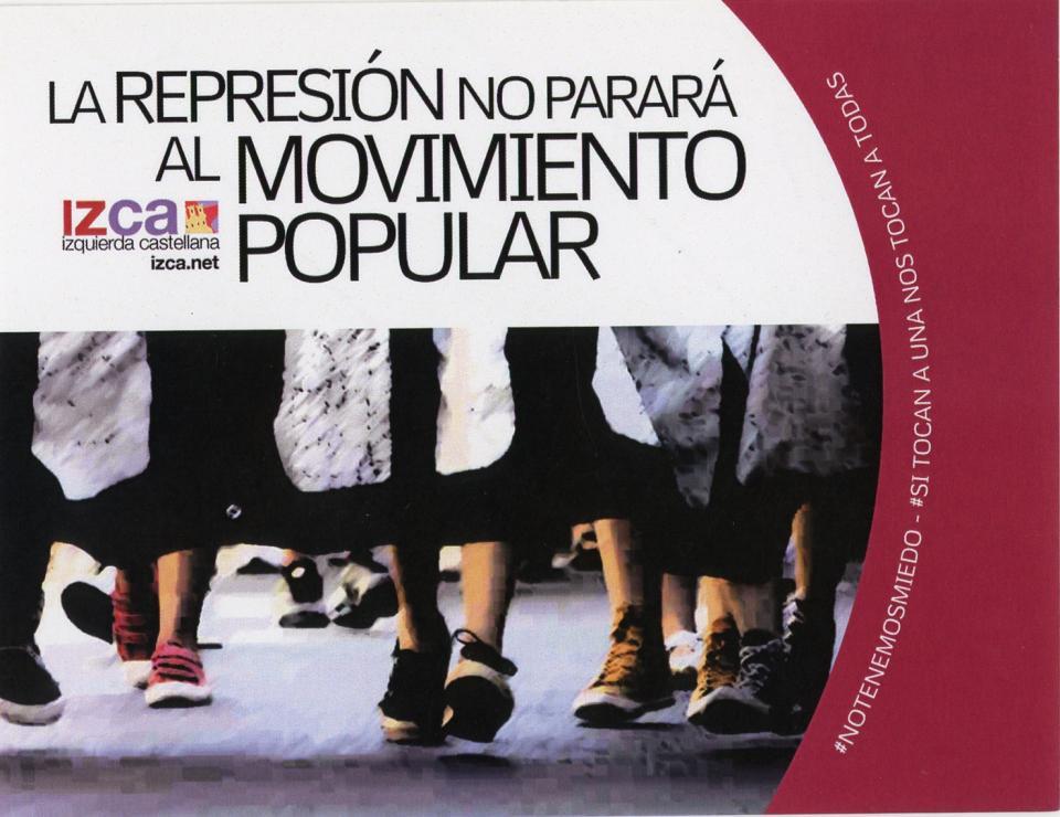 La Represión No Parará Al Movimiento Popular