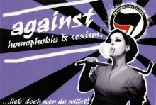 Against Homophobia & Sexism!