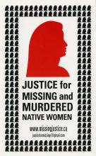 Justice For Missing And Murdered Native Women