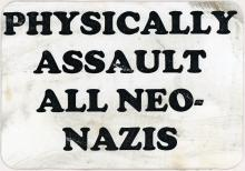 Physically Assault All Neo-Nazis