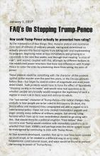 FAQs On Stopping Trump-Pence