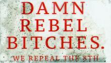 Damn Rebel Bitches. We Repeal the 8th